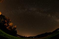 Fields and Milky Way in Puivert (8aleks8) Tags: stars sterne sternenhimmel heaven night milkyway milchstrase fisheye himmel astronomie astronomy sky