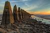 Dragon's Teeth Dawn (2) (Shuggie!!) Tags: breakwaters causeways cramond dawn hdr landscape lothians rocks ruins scotland sea shoreline sunrise zenfolio karl williams karlwilliams