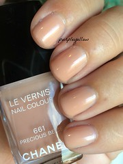 Chanel Precious Beige (purple yellow) Tags: beige nail polish precious chanel 661