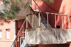 2 (Yorozuna / ) Tags: red japan architecture stairs construction rust navy steps retro hiroshima  retrospective  vermilion kure       redrust               aoyamaclub