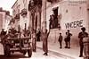 TRA L'ANTICO ED IL MODERNO...PHOTOSHOP ART (Giovanni CIUNNA) Tags: photo jeep guerra fotografia sicilia americani fascisti armistizio comiso fotografiadiguerra