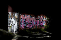 Industrial: »Motez« – Night-Pieces BXLV - 448x (Jupiter-JPTR) Tags: germany graffiti industrial character cologne colonia nightshots ccaa nightvisions orf jptr hiddenspaces abandonedarea nightindustry motez nightpieces