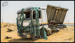 Dump Truck Accident (Adeel Javed's Photography) Tags: truck dump javed adeel