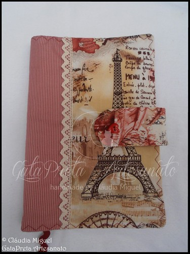 "Capa para livros ""J'aime l'automne à ParisIII"""