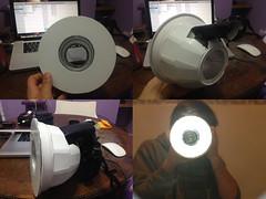 Flashring (Tomas Giudici) Tags: light diy ring homemade aro fash difusor macrolight