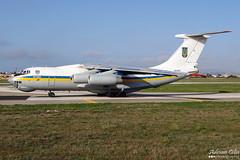 Ukraine Air Force --- Ilyushin Il-76MD --- 76413 (Drinu C) Tags: plane aircraft aviation military sony dsc mla ilyushin ukraineairforce lmml il76md 76413 hx100v adrianciliaphotography