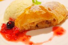 (HAMACHI!) Tags: autumn food fall japan bar dessert tokyo sweet salmon bistro foodporn icecream gr ebisu ricoh applepie 2015 diningbar diningrestaurant  shakegaraso
