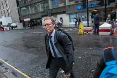 (ziemowit.maj) Tags: rain crossing angle streetphotography bodylanguage tie backpack moorgate barclays banker candidphotography ef28mmf18 canon5dmkiii deepinthouths suitwithhorrifiedfacialexpression