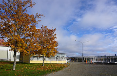 Joensuu - Finland (Sami Niemelinen (instagram: santtujns)) Tags: city colors suomi finland river colours north autumm joensuu syksy joki karjala kaupunki carelia vrit pakkahuone pohjois tuulaaki pielisjokis
