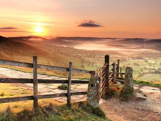 Mam tor ridge and hope valley