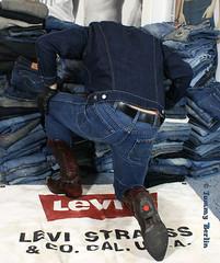 self2815 (Tommy Berlin) Tags: men ass butt jeans ars cowboyboots wrangler levisjacket