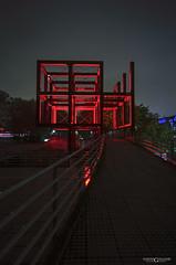 Parc de la Villette (Martins Guillaume Photography) Tags: city longexposure november autumn light urban paris france night nikon europe wideangle capitale parc villette parcdelavillette 2015 poselongue