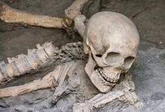 Skull and bones, Herculaneum (Scottmh) Tags: 2015 europe italy d7100 ercalano eruption herculaneum holiday nikon pompeii ruins travel vesuvius skull bones death