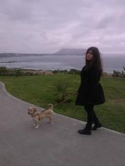 Lima - Parque Yitzhak Rabin (Santiago Stucchi Portocarrero) Tags: miraflores lima perú santiagostucchiportocarrero annafiorella hund perro can cane chien dog hound