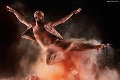Leaping (naturalturn) Tags: sanfrancisco california shirtless usa man modern dance jump jumping dancing artistic fineart aaron powder flour leap leaping moderndance image:rating=5 littleboxestheater aaronsimunovich image:id=185350