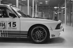 The Shark - Classic Cars (Analog World Thru My Lenses) Tags: classic cars bmw oldtimer rikenon50mmf14 ricohxr7 rolleirpx400