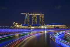 Marina Bay Singapore Countdown 2016 (gintks) Tags: boats singapore lotus helix colourful goldenjubilee singapur mbs jubileebridge rivertaxi exploresingapore boattrails marinabaysands singaporetourismboard wishingspheres sg50 marinabayfinancialcentre yoursingapore gintaygintks