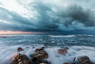 Mar mediterráneo. Playa de Marbella