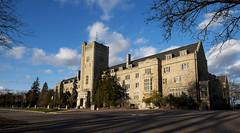 Another Johnston Hall (dougschlock) Tags: sunset architecture hall university guelph johnston universityofguelph