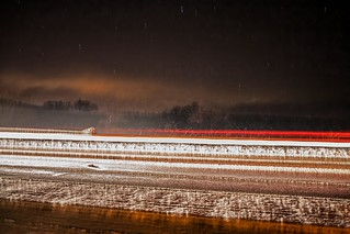 . . . a winter's night on the A9