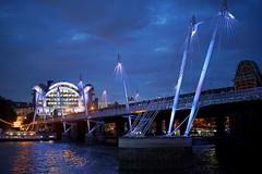Charing Cross (andy.brittle) Tags: southbank london waterloo charingcross riverthames thames bridge