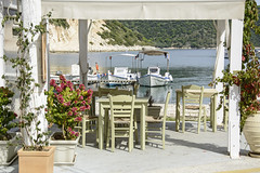 Frikes Harbour (hippyczich) Tags: restaurant frikes harbour ithaca greece