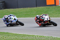 BSB - R1 (10) Jason O'Halloran leads Christian Iddon (Collierhousehold_Motorsport) Tags: bsb superbikes britishsuperbikes msvr msv honda kawasaki suzuki bmw yamaha ducati brandshatch brandshatchgp pirelli mceinsurance