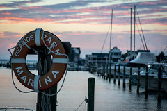 (CoreyJennings) Tags: bay ocean beach boat sunset nikon newjersey water shore