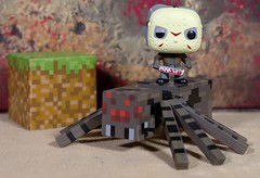Jason will get into your dreams any way he can (Busted.Knuckles) Tags: home toys funkopop minecraft minifigures spider jasonvorhees pentaxk3 camerautility5