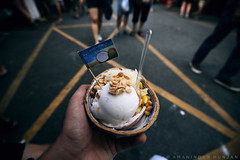 Coconut ice cream (Amaninder hunjan) Tags: ice cream natgeo natgeotravel nature natgeotraveler travel thailand traveler trip roadtrip street bangkok market sunday film dark canon amaninderhunjan aroundtheworld art destination dslr dramatic