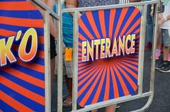 Enterance (Joe Shlabotnik) Tags: 2016 syracuse disko misspelling september2016 sign spelling newyorkstatefair entrance statefair afsdxvrzoomnikkor18105mmf3556ged