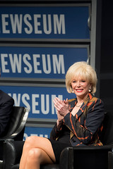 """60 Minutes"" correspondent Lesley Stahl during the panel."