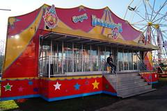 DSC02255 (A Parton Photography) Tags: fairground rides spinning longexposure miltonkeynes fireworks bonfire november cold