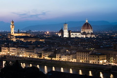View of Florence from the Piazzale Michelangelo (jp rho) Tags: piazzale michelangelo florence italy cattedraledisantamariadelfiore cathedral piazza del duomo firenze