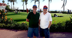 Henry and Chuck at the Hotel Del (chrisinphilly5448) Tags: california ca sandiego coronado hoteldel hoteldelcoronado