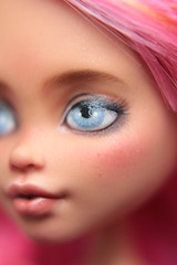 (Rochellemh) Tags: howleen wolf monsterhigh repaint ooak custom