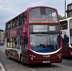 Lothian Buses 331: SN59BFM (Cobalt271) Tags: lothian buses 331 sn59bfm volvo b9tl wright eclipse gemini 2 madder livery 22 branded