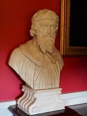 PA312210 (simonrwilkinson) Tags: stourhead stourton warminster wiltshire nationaltrust nt library anteroom sculpture bust