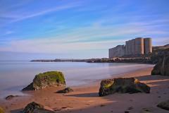The Cove and Quarry (Colin Kavanagh) Tags: arklow wicklow ireland roadstone cove thecove sand beach water sea rocks shore irishsea stones sky light colour color colourful