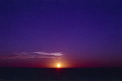 Azzurra window, Gozo, august 2014 (Tefilo de Sales) Tags: malta island gozo meditarrean sea sunset tramonto water sky summer analog analogic film fuji fujixtra400 fujifilm 50mm 35mm nikkormatel nikkormat nikon nikkor cliff azzurra azzurrawindow window