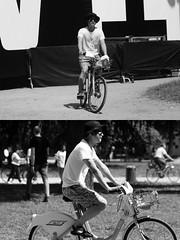 [La Mia Citt][Pedala] con il BikeMi al Wired NextFest (Urca) Tags: milano italia 2016 bicicletta pedalare ciclista ritrattostradale portrait dittico nikondigitale mir biancoenero blackandwhite bn bw 8985
