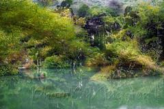 DSCF7210 (kingston Tam) Tags: waterfall river rapids sedimentaryrock stone ancientcity guizhou wetlandpark park canyon landscape naturallandscape mountain scenery streetscape oldfashioned streetphotography castle hawkers peddler fujifilmxt1