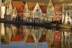 Beloved Brugge (Natali Antonovich) Tags: belovedbrugge brugge bruges belgium belgie belgique architecture reflection parallels lifestyle style autumn pensiveautumn canal water oldtown oldtime oldworld oldest tradition