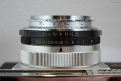 Aires Viscount M2.8 on Display (12) (Hans Kerensky) Tags: aires viscount m28 display japanese 35mm rangefinder camera lens q coral 128 45cm