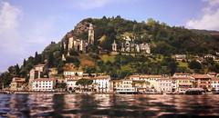 Lago di Lugano (VandenBerge Photography) Tags: morcote lagodilugano switzerland schweiz water lonelyplanet lake travel town chapel church europe houses village panorama pov perspective monumentalstaircase churchofsmariadelsasso swissheritagesiteofnationalsignificance