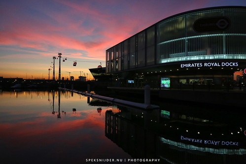 Emirates Royal Docks Station London