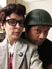 MIZ 9169_n (RANCHO COCOA) Tags: morrissey moz thesmiths meatismurder missykulik raouldelacruz halloween costume cosplay kitchen ranchococoa athens georgia wig pompadour soldier helmet albumcover me