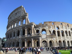 The Colosseum (Paula Luckhurst) Tags: thecolosseum rome italy europe architecture antiquity history roman ancientrome romaantica romanempire