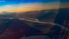 A Wistful Look Back on Portland & Mt. Hood (AvgeekJoe) Tags: iflyalaska aerialphotograph columbiariver d5300 dslr importedkeywordtags mounthood mthood nikon nikond5300 oregon portland vancouver washington washingtonstate aerial aerialphoto aerialphotography