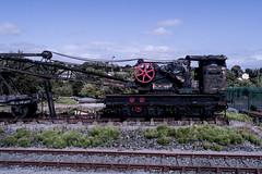 steam crane (glasnevinz) Tags: ireland cork mallow mala steamcrane railway